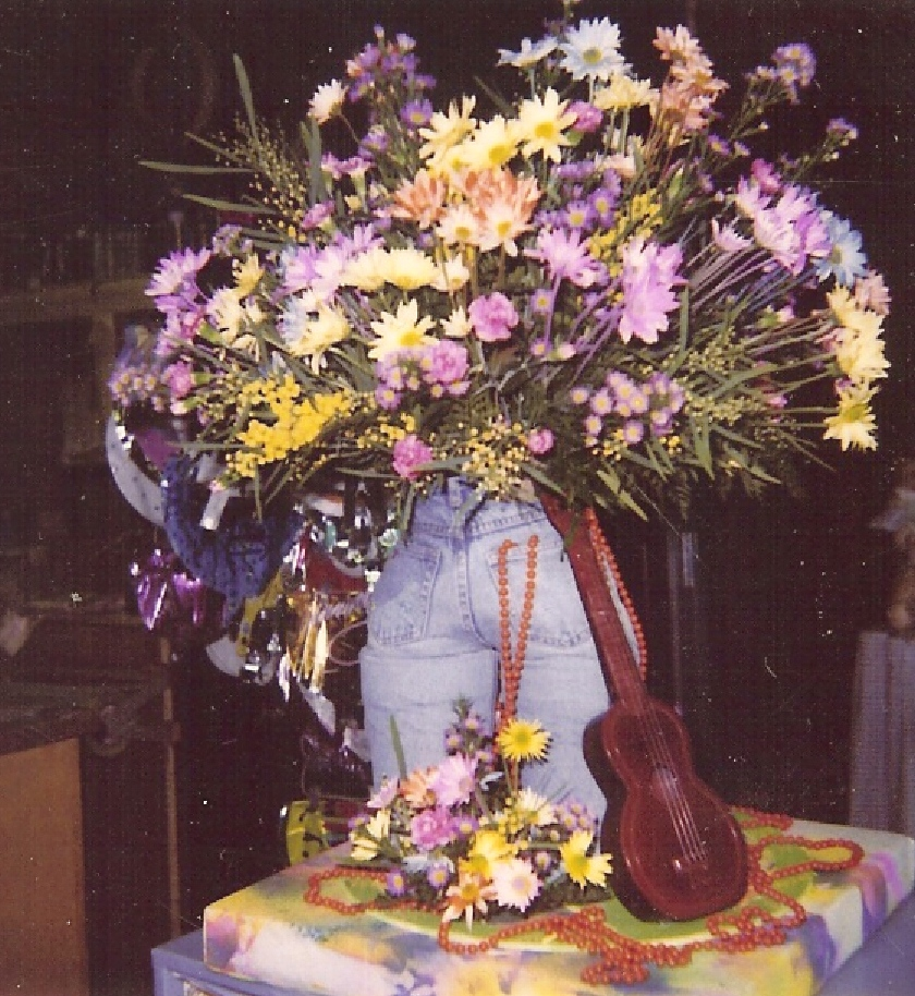 Stuffe jean centerpiece
