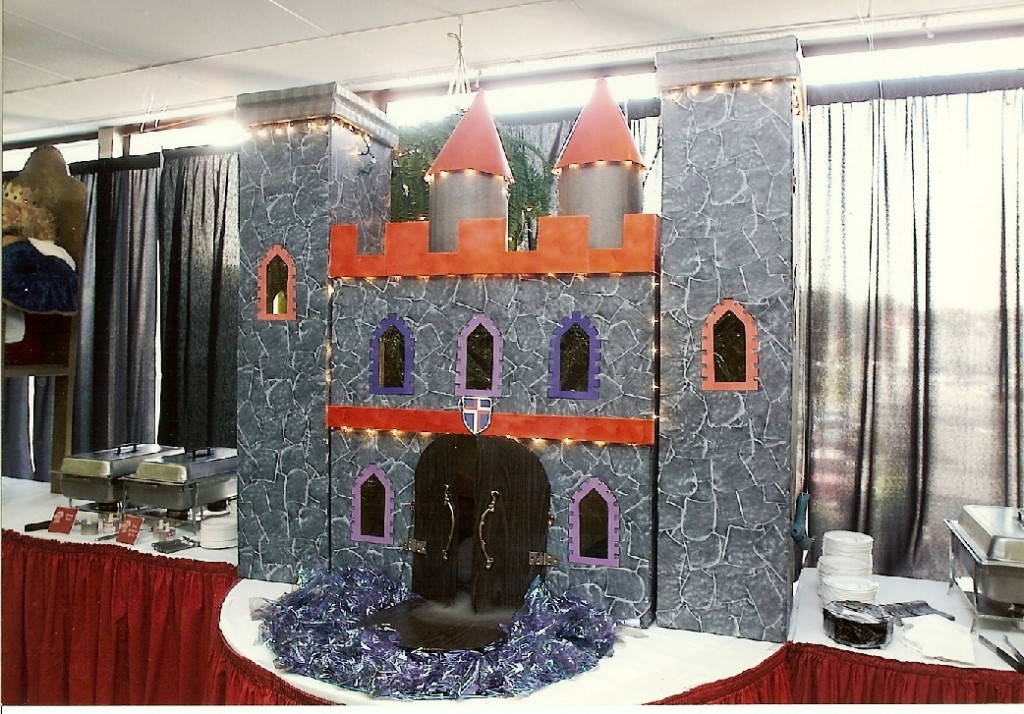 Castle centerpiece